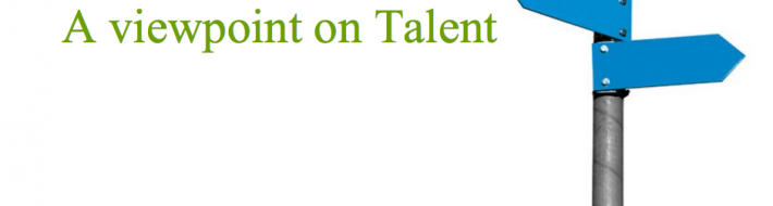 A viewpoint on Talent