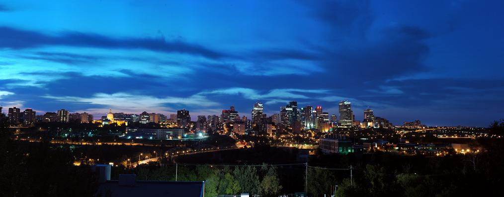 Buie. (2012). Edmonton Skyline. Retrieved with permission from http://www.flickr.com/photos/two8five/