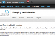 Emerging Health Leaders Linkedin