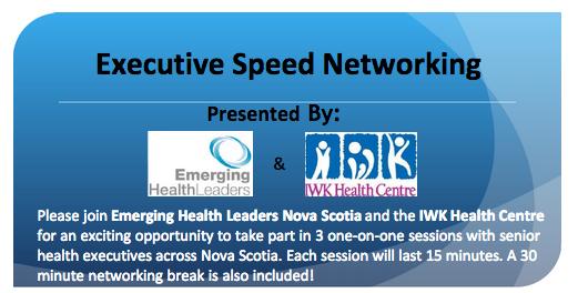 Speed Networking in Nova Scotia