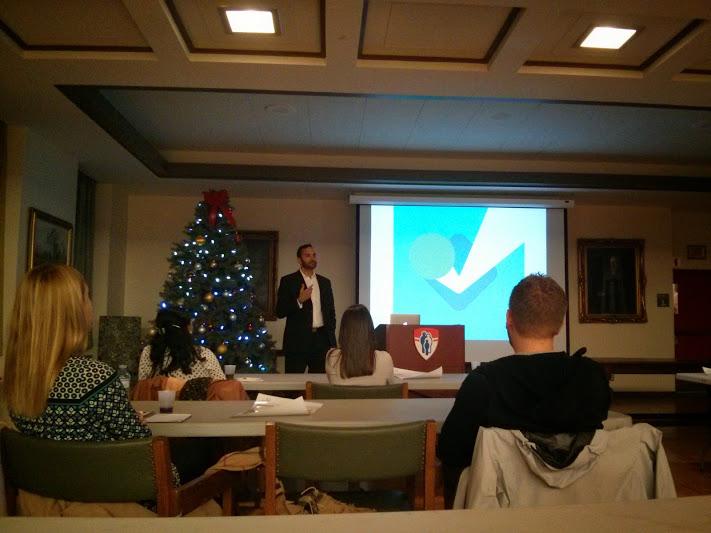 Photo Conférence EHL Nectarios Economakis #2