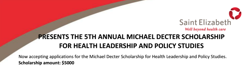 Michael Dector Scholarship for Health Leadership and Policy Studies