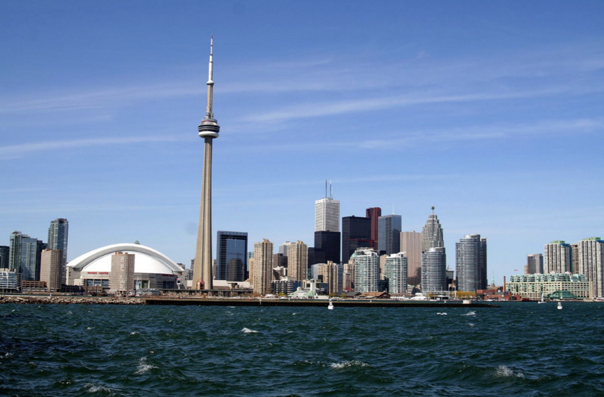 Toronto Skyline from Central Island by Ilker Ender