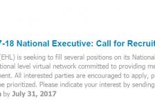 CallforRecruitmentJune2017